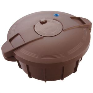 MEYER 電子レンジ圧力鍋 ブラウン MPC-2.3BR - 拡大画像