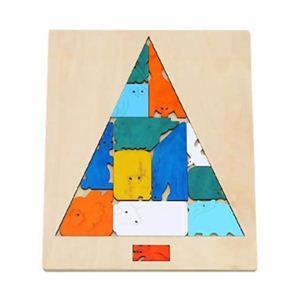 ジョージ・ラック トリックパズル どうぶつツリー - 拡大画像