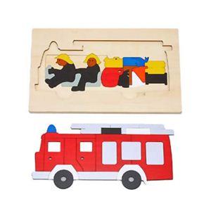 ジョージ・ラック 2重パズル 消防車 - 拡大画像