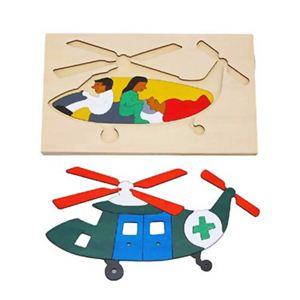ジョージ・ラック 2重パズル ヘリコプター - 拡大画像