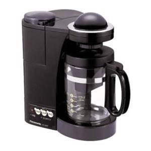 パナソニック ミルつき浄水コーヒーメーカー NC-S35P-K - 拡大画像