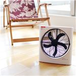 【数量限定】Rectro(レクトロ) 充電式サーキュレーターファン(充電式扇風機) AIR CORDLESS BLE-21
