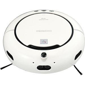 シャープ ロボット家電(ロボットクリーナー) COCOROBO(ココロボ) RX-V60-W ホワイト系 - 拡大画像