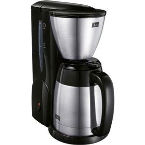メリタ コーヒーメーカー アロマサーモ ステンレス2 MKM-531/B(ジェットブラック) - 拡大画像