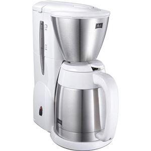 メリタ コーヒーメーカー アロマサーモ ステンレス2 MKM-531/W(ピュアホワイト) - 拡大画像
