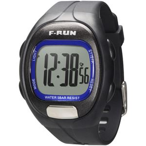 F-RUN(エフラン) 指タッチ式心拍計 HM06K ブラック - 拡大画像