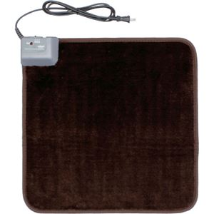 (まとめ買い)アイリスオーヤマ ホットマット HC-45S-T ブラウン×2セット - 拡大画像
