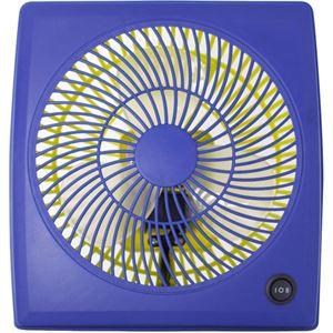 (まとめ買い)plus more ACモーター カラフルアロマサーキュレーター 7インチ Coles(コレス) MO-5207ACL-BL ブルー×2セット - 拡大画像