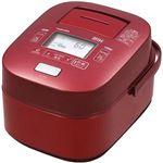 (まとめ買い)東芝 IH炊飯保温釜(1升炊き) 真空圧力かまど炊き RC-18VPH(R) グランレッド×2セット