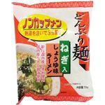 (まとめ買い)トーエー どんぶり麺 ねぎ入 しょうゆ味ラーメン ノンカップメン 78g×15セット