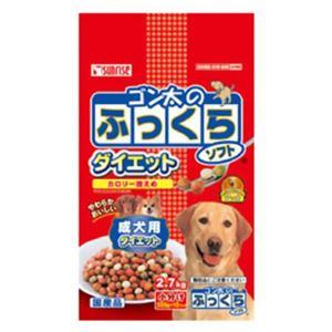 (まとめ買い)ゴン太のふっくらソフト ダイエット 成犬用 (225g×12袋)×6セット - 拡大画像
