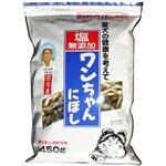 (まとめ買い)塩無添加 ワンちゃんにぼし 450g×4セット
