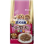 (まとめ買い)愛犬元気 小型犬用 ささみ・ビーフ・緑黄色野菜・小魚・チーズ入り 1kg×6セット