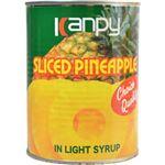 (まとめ買い)カンピー パインアップル スライス 3号缶 565g×12セット