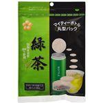 (まとめ買い)日薬壮健 マイティーボトル丸型パック 緑茶 30パック(60g)×6セット