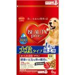 (まとめ買い)ビューティープロ 1歳から 成犬用 大粒タイプ チキン 6kg×2セット