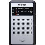 (まとめ買い)東芝 アナログチューナーポケットラジオ ブラック TY-APR3(K)×2セット