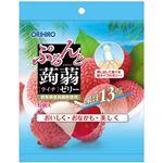 (まとめ買い)オリヒロ ぷるんと蒟蒻ゼリー ライチ 20g×6個×10セット