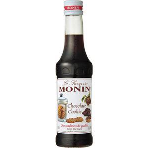 (まとめ買い)モナン チョコレートクッキー・シロップ 250ml×5セット