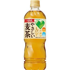【ケース販売】グリーン ダカラ (GREEN DAKARA) やさしい麦茶 650ml×24本 - 拡大画像