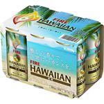 (まとめ買い)キリン ファイア ハワイアン 微糖 185g×6本パック×5セット