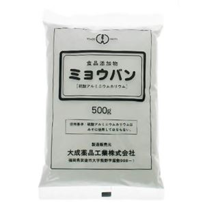(まとめ買い)ミョウバン 500g×8セット
