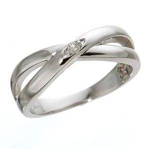 ダイヤリング 指輪インサイドバースデイストーンリング タンザナイト(12月)9号 - 拡大画像