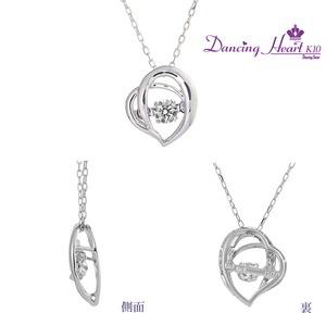 クロスフォーDancing Heart(ダンシングハート) DH-013 【Dreamy】 ダイヤモンドペンダント/ネックレス