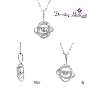 クロスフォーDancing Heart(ダンシングハート) DH-015 【Universe】 ダイヤモンドペンダント/ネックレス h03