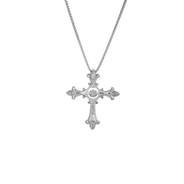 クロスフォーニューヨーク Dancing Stoneシリーズ(ダンシングストーン) Eternal Cross】 ペンダント NYP-608