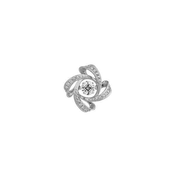 クロスフォーニューヨーク Dancing Stoneシリーズ(ダンシングストーン) 【Spiral2】 タイニーピン NY-T015f00