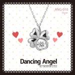ダンシングエンジェル Dancing Stoneシリーズ(ダンシングストーン) 【Clover】 ペンダント ANG-010