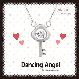ダンシングエンジェル Dancing Stoneシリーズ(ダンシングストーン) 【Lovers Key】 ペンダント ANG-011