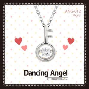ダンシングエンジェル Dancing Stoneシリーズ(ダンシングストーン) 【My Key】 ペンダント ANG-012 - 拡大画像