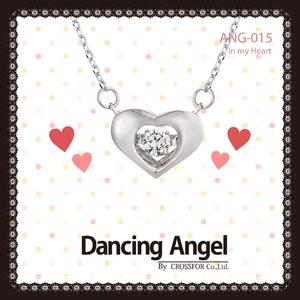 ダンシングエンジェル Dancing Stoneシリーズ(ダンシングストーン) 【In my Heart】 ペンダント ANG-015 - 拡大画像