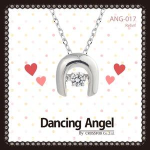 ダンシングエンジェル Dancing Stoneシリーズ(ダンシングストーン) 【Relief】 ペンダント ANG-017 - 拡大画像