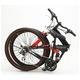WACHSEN(ヴァクセン) 折り畳み自転車 BM200-BYL 26インチ 18段変速 ブラック/レッド (マウンテンバイク) - 縮小画像2