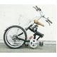 20インチ折畳み自転車 ヘブンズ シマノ6段変速モデル ブラック 写真2