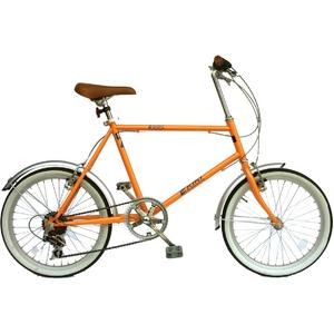 KIKI 20インチ スリムサイクル パールオレンジ - 拡大画像