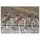 PRIMARY(プライマリー) 6段変速 クロスバイク BGC-700-GR グリーン+折りたたみバスケット+ワイヤーロック+LEDライト 写真4