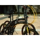 WACHSEN(ヴァクセン) アルミ折り畳み自転車 20インチ BA-100 ブラック&イエロー 自転車用アクセサリ4種セット付き - 縮小画像5
