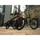 WACHSEN(ヴァクセン) アルミ折り畳み自転車 20インチ BA-100 ブラック&レッド 自転車用アクセサリー4種セット - 縮小画像4