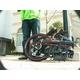 WACHSEN(ヴァクセン) 20インチアルミ折畳自転車 ブラック&レッド 自転車用アクセサリー4種セット 写真5