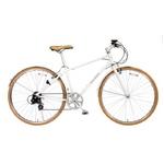 WACHSEN  700Cアルミクロスバイク 6段変速 Reise+ダイナモライト+ワイヤーロック