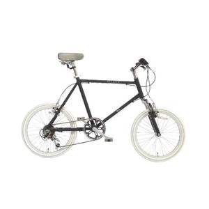 WACHSEN(ヴァクセン) 自転車 Lang(ラング) 20インチ サス付きアルミミニベロ 6段変速 ブラック