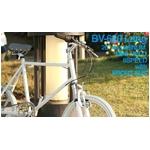 WACHSEN(ヴァクセン) 自転車 Lang(ラング) 20インチ サス付きアルミミベロ 6段変速 ホワイト+ダイナモライト+ワイヤーロック