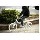 WACHSEN(ヴァクセン) 自転車 Lang(ラング) 20インチ サス付きアルミミベロ 6段変速 ホワイト+ダイナモライト+ワイヤーロック - 縮小画像4
