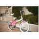 20インチ カラフル折りたたみ自転車 6段変速 HEAVEN's ピンク 写真5
