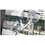 折り畳み自転車 26インチ Wolke(ヴォルケ) 6段変速 サスペンション ホワイト(シティサイクル)BC-S626【送料無料】