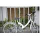WACHSEN(ヴァクセン) 折り畳み自転車 Wolke(ヴォルケ) 26インチ 6段変速 サスペンション ホワイト(シティサイクル)BC-S626 - 縮小画像4